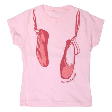 NYC Ballet Ballet Slipper Youth Tee