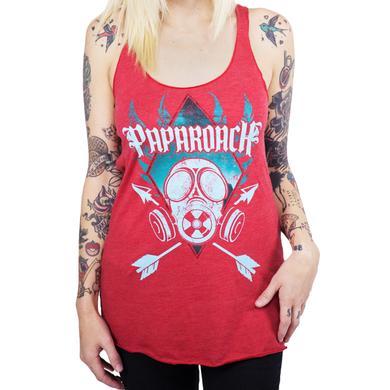 Papa Roach Women's Gas Mask Tank