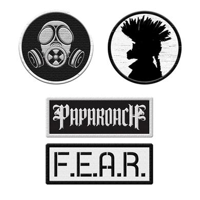 Papa Roach Patch Set