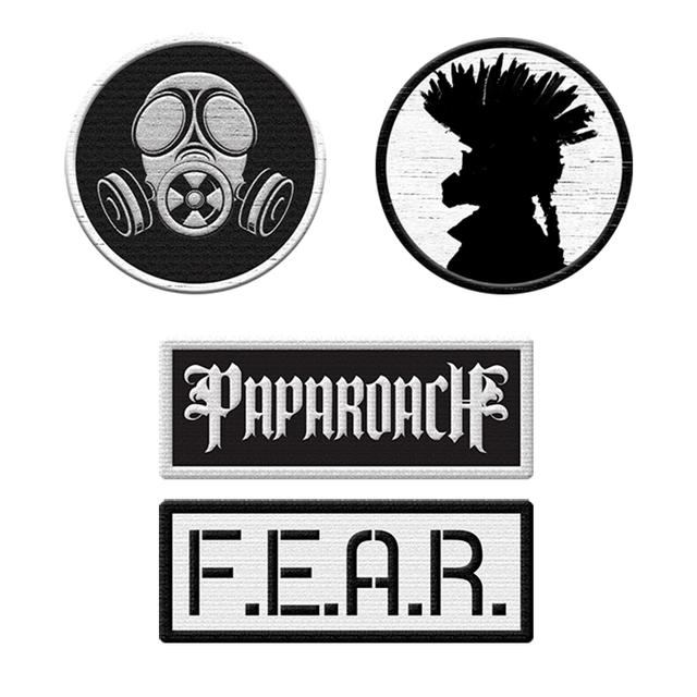 Papa Roach Patch Set