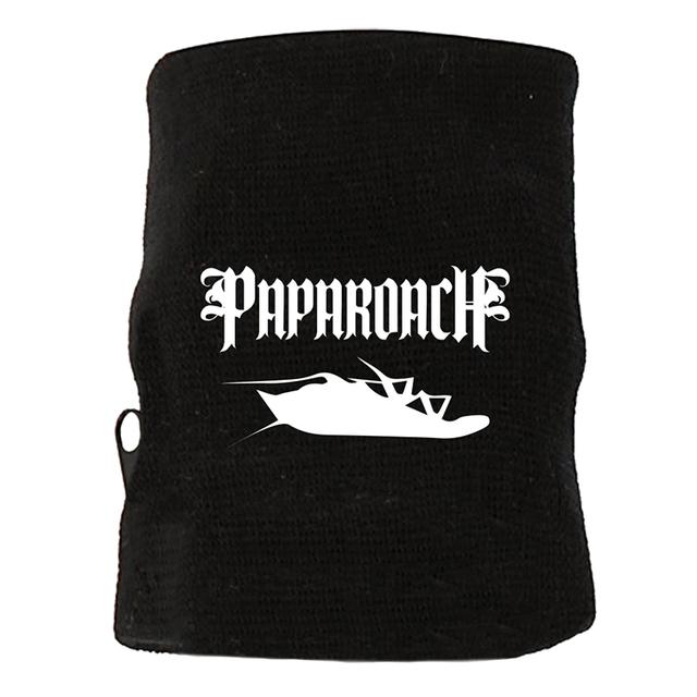 Papa Roach Zipper Pocket Sweatband