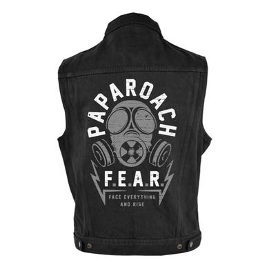 Papa Roach FEAR Denim Vest