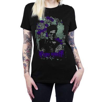 Papa Roach Women's Flower Skull Tee