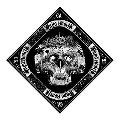 Papa Roach 93 California Skull Bandana