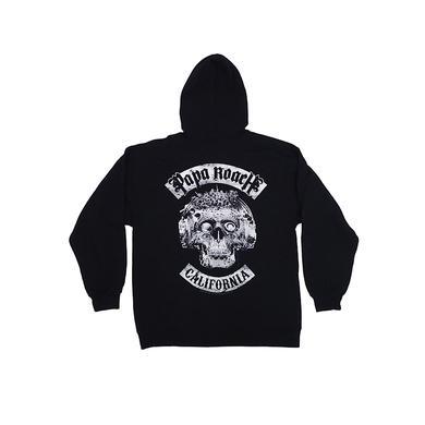 Papa Roach California Skull Hoodie