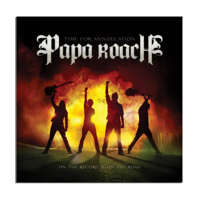 Papa Roach Time for Annihilation CD