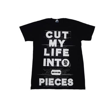 Papa Roach Cut My Life into Pieces Tee