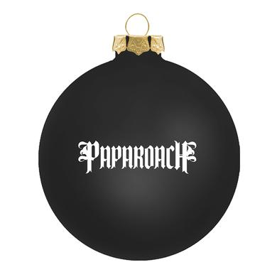 Papa Roach Signed Snowman Horns Ornament