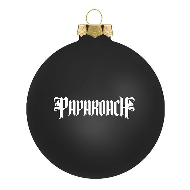 Papa Roach Signed Snowman Horns Ornament