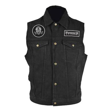Papa Roach Black Denim Vest