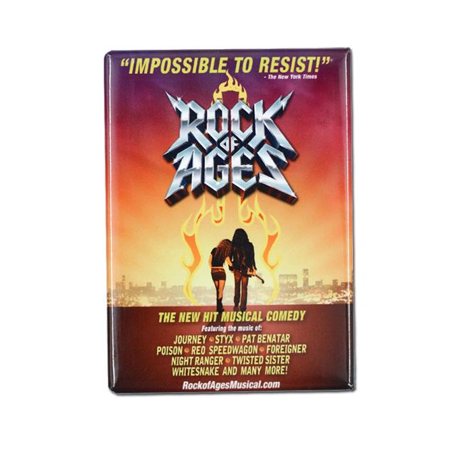 Rock Of Ages Tour Magnet