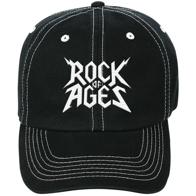 Rock Of Ages Logo Baseball Hat