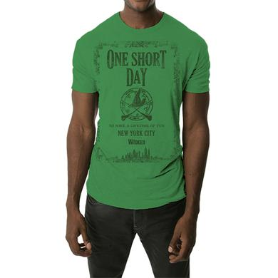 Wicked NYC Green One Short Day Tee