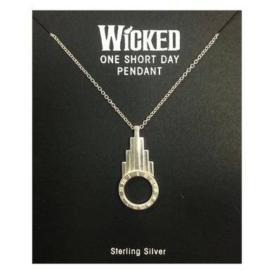 Wicked One Short Day Pendant Necklace