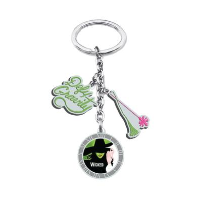 Wicked Defy Gravity Charm Keychain