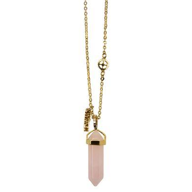 Wicked Pink Quartz Necklace