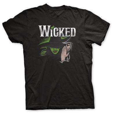Wicked Black Sketch Logo Tee