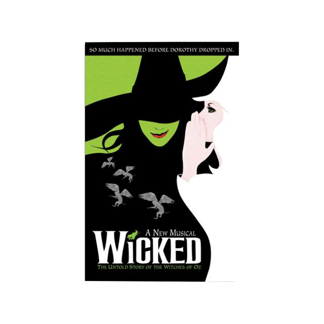 Wicked Roll Up Poster
