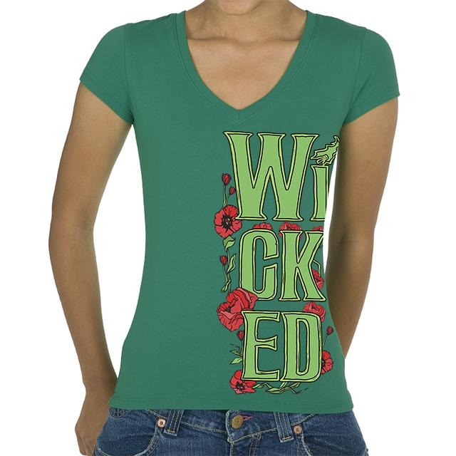 Wicked Organic Stack Poppy Tee