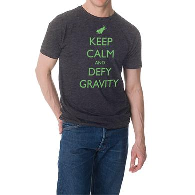 Wicked Keep Calm and Defy Gravity Tee