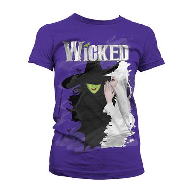 Wicked Organic Women's Painted Tee