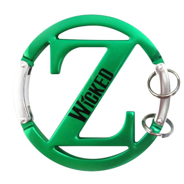 Wicked Oz Carabiner Keychain