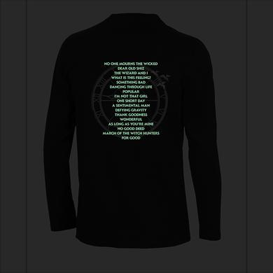 Wicked Glow Song Title Long Sleeve
