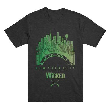 Wicked Unisex NYC Clock Tee V2