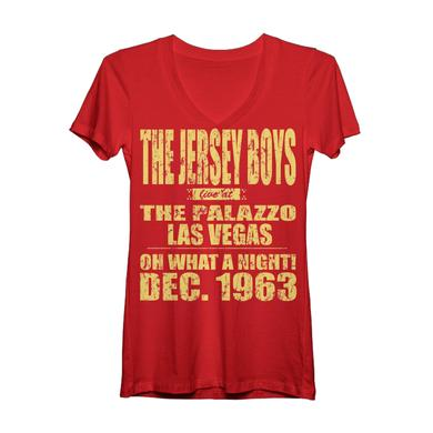 Jersey Boys Women's Paris 1963 V-Neck