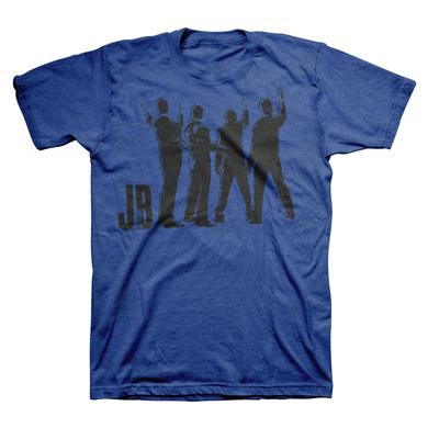 Jersey Boys Mens' Blue Logo Shirt