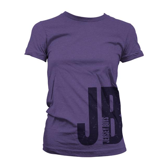 Jersey Boys Women's Purple Logo Shirt