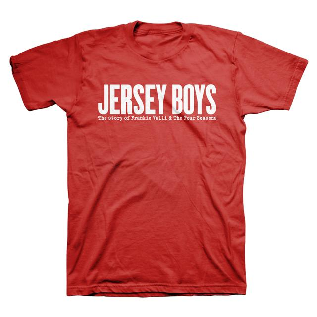 Jersey Boys Red Show Shirt
