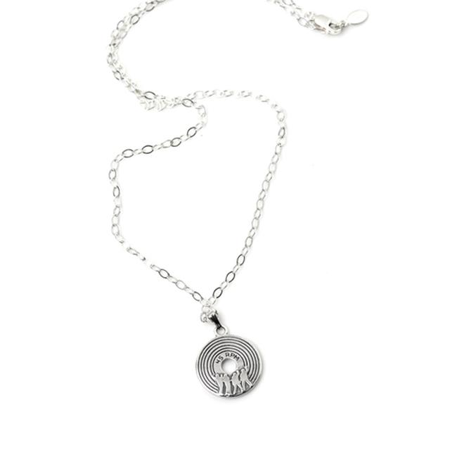 Jersey Boys Record Necklace