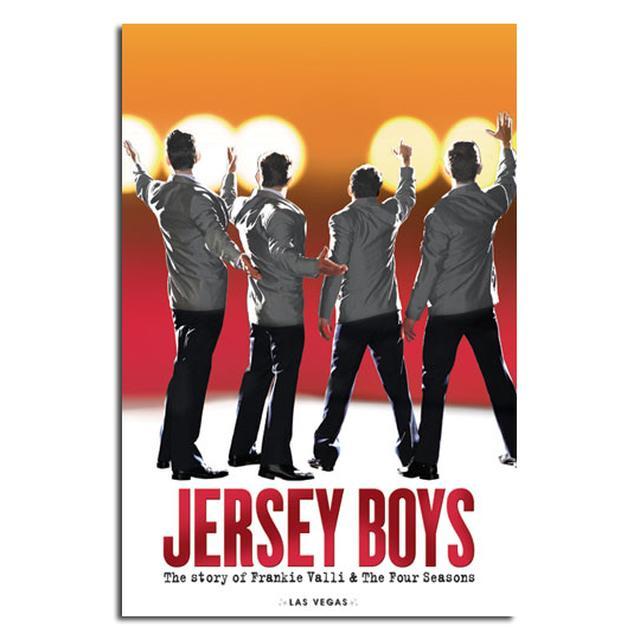 Jersey Boys Las Vegas Show Poster