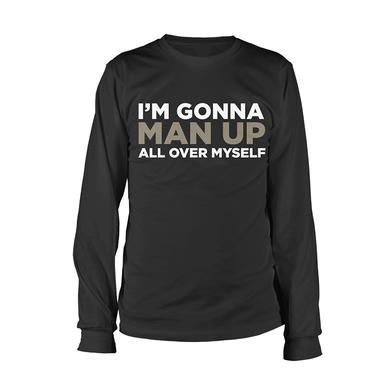 Book Of Mormon Man Up Long Sleeve Tee