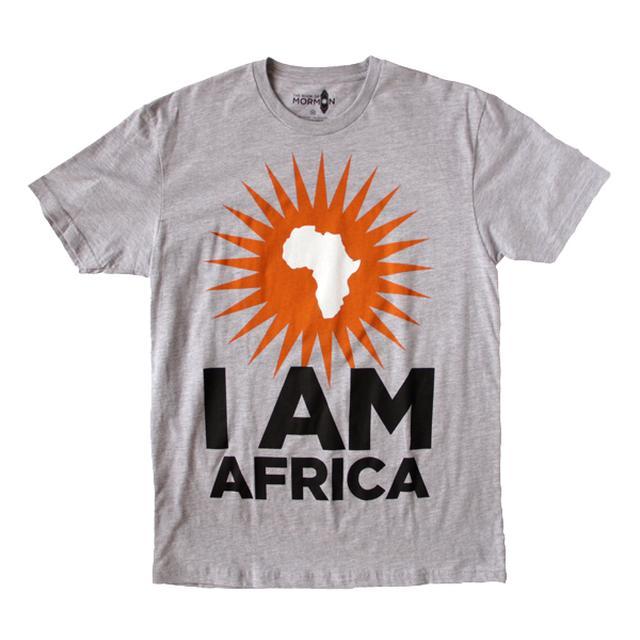 Book Of Mormon I am Africa Men's Tee
