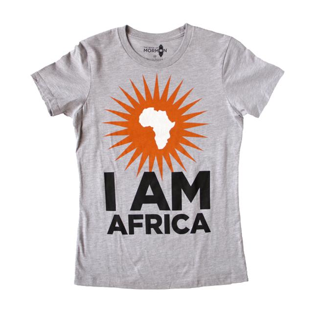 Book Of Mormon I am Africa Women's Tee