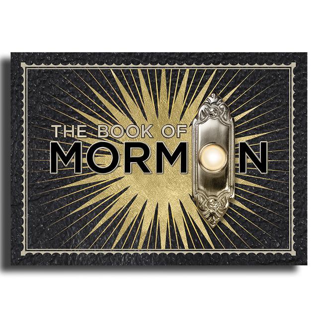 Book Of Mormon Starburst Magnet