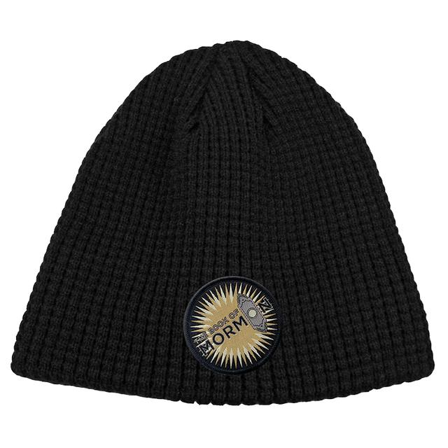 Book Of Mormon Logo Patch Knit Beanie
