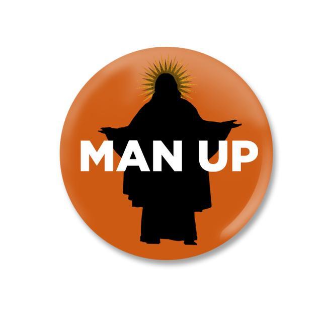Book Of Mormon Man Up Button