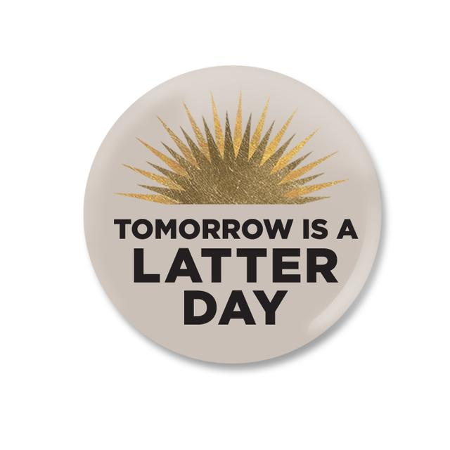 Book Of Mormon Latter Day Button