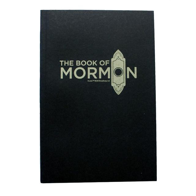 BOOK OF MORMON LOGO NOTEBOOK