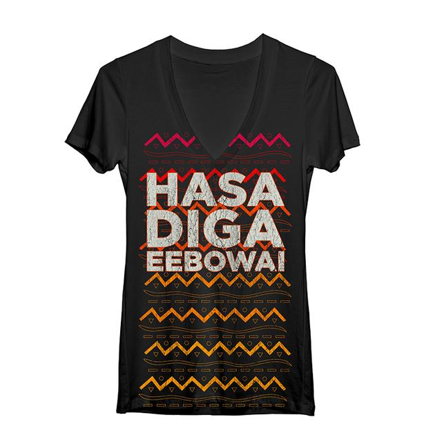 Book Of Mormon Hasa Tribal Women's V-Neck