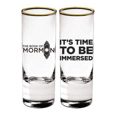 Book Of Mormon Immersed Shot Glass