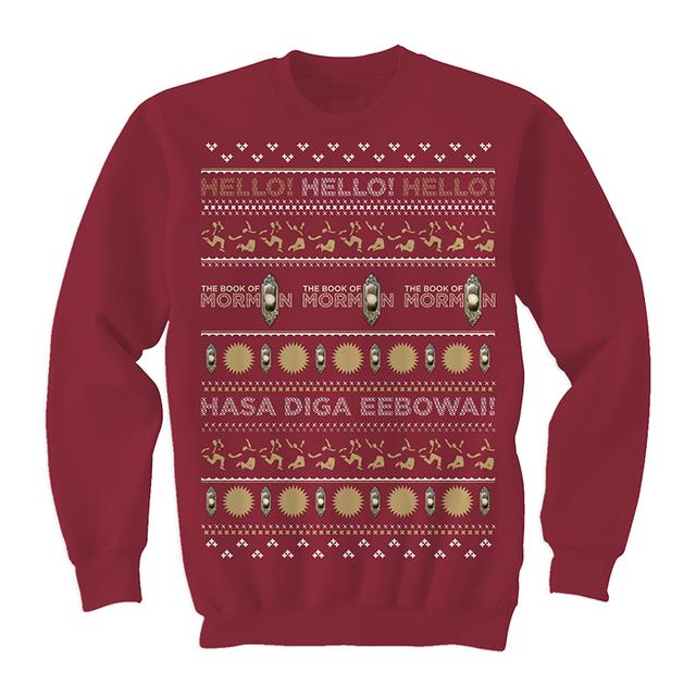 Book Of Mormon Ugly Sweater Pullover
