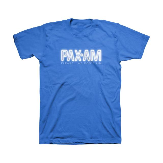 Ryan Adams Neon PaxAm Royal Tee
