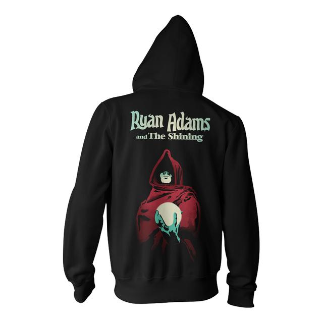 Ryan Adams Necromancer Black Zip Hoodie