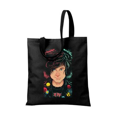 Ryan Adams Animation Black Tote Bag