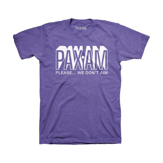 Ryan Adams PaxAm Heather Purple Tee