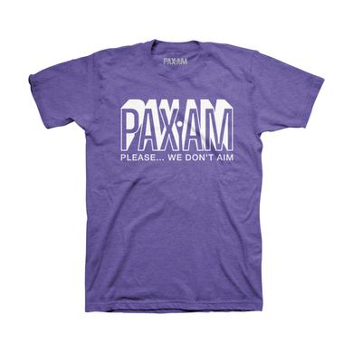 Ryan Adams PaxAm Heather Purple Tee